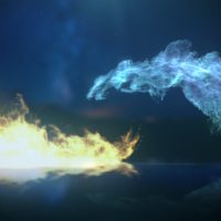 VIDEOHIVE ICE AND FIRE LOGO FREE DOWNLOAD