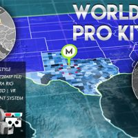 VIDEOHIVE 3D WORLD MAP PRO KIT FREE DOWNLOAD