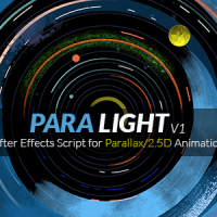 VIDEOHIVE PARALIGHT | AFTER EFFECTS SCRIPT FOR PARALLAX/2.5D ANIMATION