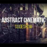 Abstract Cinematic Parallax Opener | Slideshow 19318190