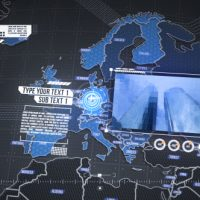 VIDEOHIVE WORLD MAP ELEMENT 3D FREE DOWNLOAD