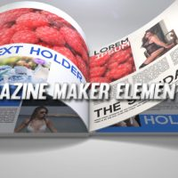VIDEOHIVE MAGAZINE MAKER ELEMENT 3D