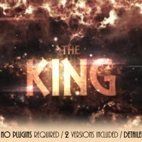 VIDEOHIVE THE KING FREE DOWNLOAD