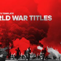 VIDEOHIVE WORLD WAR CINEMATIC TITLES