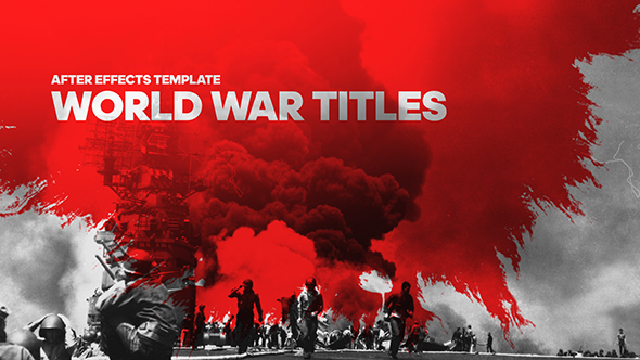 videohive world war cinematic titles free after effects template videohive projects. Black Bedroom Furniture Sets. Home Design Ideas