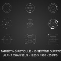 VIDEOHIVE TARGETING RETICULES – MOTION GRAPHIC