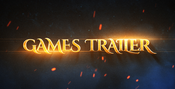 VIDEOHIVE GAMES EPIC TRAILER FREE DOWNLOAD - Free After