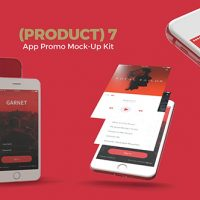 VIDEOHIVE (PRODUCT) 7 APP PROMO MOCK-UP KIT