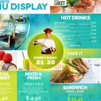 VIDEOHIVE FAVORITE RESTAURANT DISPLAY FREE DOWNLOAD