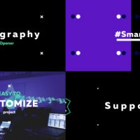 VIDEOHIVE TYPOGRAPHY OPENER 19788218 FREE DOWNLOAD