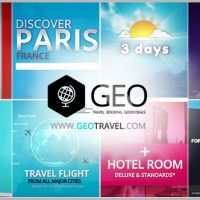 VIDEOHIVE GEO – TRAVEL & BOOKING PROMO TRIP PACKAGE