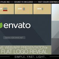Videohive – Flat Logo – Responsive Design Corporate App 7043820