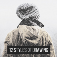 VIDEOHIVE 12 STYLES OF DRAWING – ADD-ONS