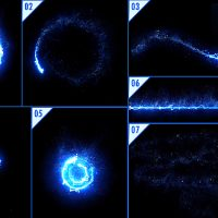 VIDEOHIVE ENERGY LIGHT STREAKS WITH PARTICLES
