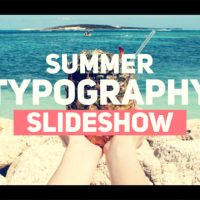 Videohive – Summer Typography Slideshow 19835806 – Free Download