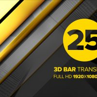 VIDEOHIVE 3D BAR TRANSITIONS FREE DOWNLOAD