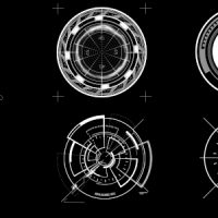 VIDEOHIVE HUD CIRCLE ELEMENTS – MOTION GRAPHIC