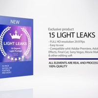 VIDEOHIVE LIGHT LEAKS – MOTION GRAPHIC