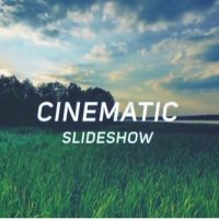 CINEMATIC SLIDESHOW – AFTER EFFECTS TEMPLATE (MOTION ARRAY)