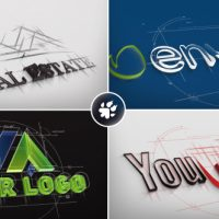 VIDEOHIVE ARCHITECT SKETCH LOGO
