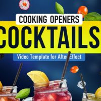 VIDEOHIVE COOKING DESIGN PACK – COCKTAILS