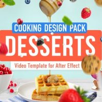 VIDEOHIVE COOKING DESIGN PACK – DESSERTS