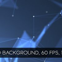 VIDEOHIVE BLUE CRYSTAL LATTICES BACKGROUND – MOTION GRAPHIC