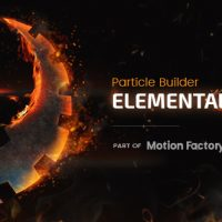 VIDEOHIVE PARTICLE BUILDER | ELEMENTAL GEAR: FIRE SAND SMOKE PARTICULAR PRESETS