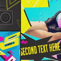 VIDEOHIVE GLAM ROCK CASSETTE SLIDESHOW