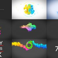 VIDEOHIVE BEAUTY PARTICLES LOGO PACK