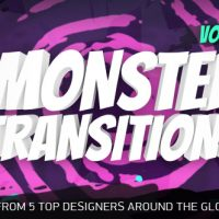 VIDEOHIVE 125+ MONSTER TRANSITIONS