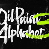 VIDEOHIVE OIL PAINT ALPHABET 3