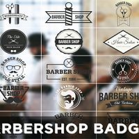 VIDEOHIVE BARBERSHOP BADGES