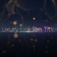 VIDEOHIVE LUXURY GOLDEN TITLES FREE DOWNLOAD