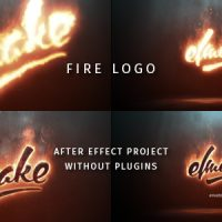 VIDEOHIVE FIRE LOGO 19209644 FREE DOWNLOAD