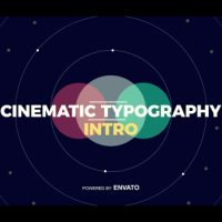 VIDEOHIVE CINEMATIC TYPOGRAPHY INTRO