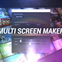 VIDEOHIVE MULTI VIDEO SCREEN MAKER AUTO