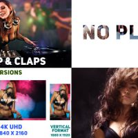 VIDEOHIVE RHYTHMIC SLIDES AND TYPO