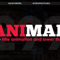 VIDEOHIVE ANIMAD | 299+ TITLES AND LOWER THIRDS