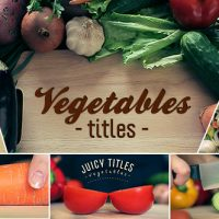 VIDEOHIVE VEGETABLES TITLES FREE DOWNLOAD