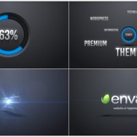 VIDEOHIVE WORDS CORPORATE LOGO INTRO