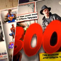 VIDEOHIVE COMIC BOOK TEMPLATE