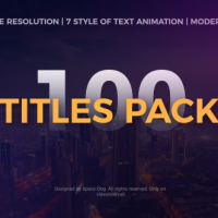 VIDEOHIVE THE TITLES PACK FREE DOWNLOAD