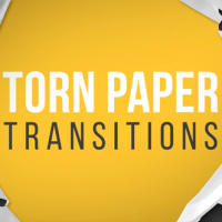 VIDEOHIVE TORN PAPER TRANSITIONS REVEAL PACK