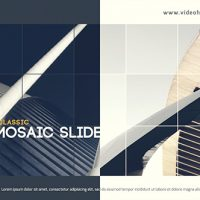 VIDEOHIVE CLASSIC MOSAIC SLIDE FREE DOWNLOAD