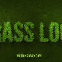 Grow Grass Logo – After Effects Motion Array