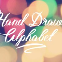 VIDEOHIVE HAND DRAWN ALPHABET FREE DOWNLOAD