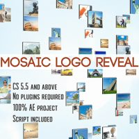VIDEOHIVE MOSAIC LOGO REVEAL FREE DOWNLOAD