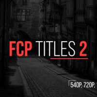 Videohive FCP Titles 2 16668267 Free Download