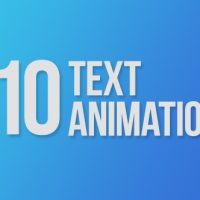 VIDEOHIVE 110 TEXT ANIMATIONS FREE DOWNLOAD